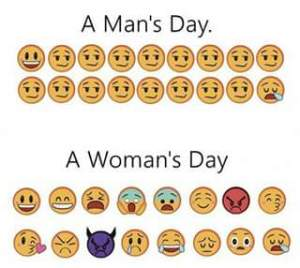 Mood Seorang Wanita