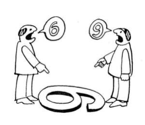 conflict sudut pandang