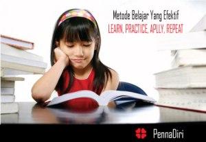 Metode Belajar Yang Efektif dan Efesien