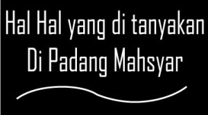 Pertanyaan Padang Mahsyar