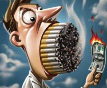 Merokok membakar perkonomian Keluarga