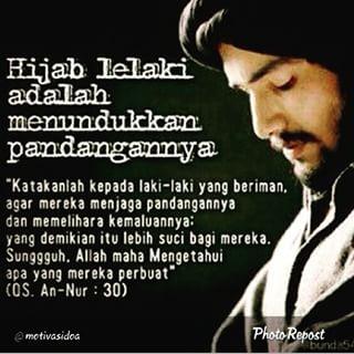 Hijab Seorang Lelaki
