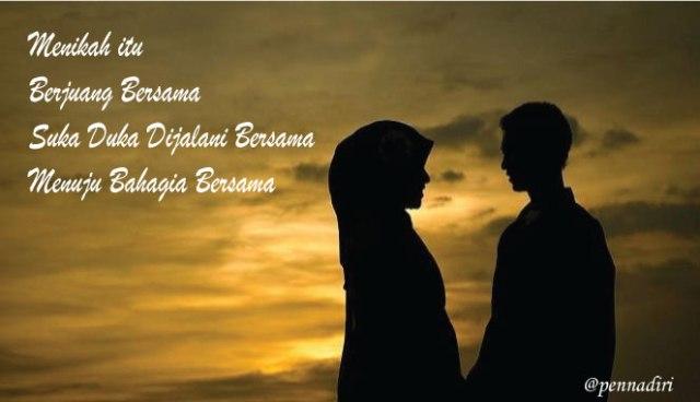 Ego Tak Bisa Bekerja Dalam Pernikahan
