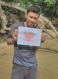 Happy Birthday Manda