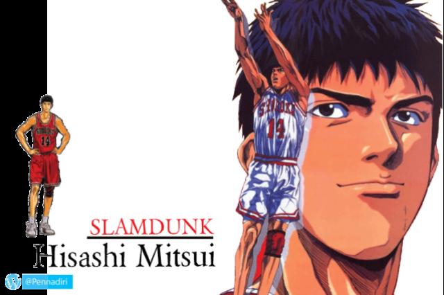 Hisashi Mitsui - Karakter Penjahat Anime Yang Berubah Menjadi Baik