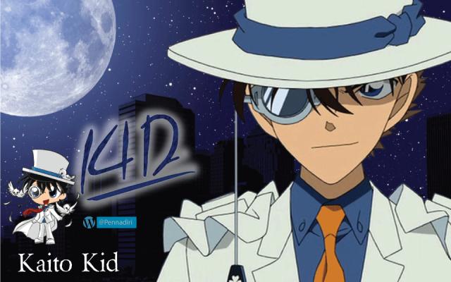 Kaito Kid - Karakter Penjahat Anime Yang Berubah Menjadi Baik