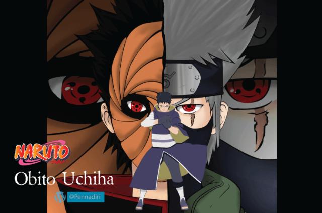 Uchiha Obito - Karakter Penjahat Anime Yang Berubah Menjadi Baik
