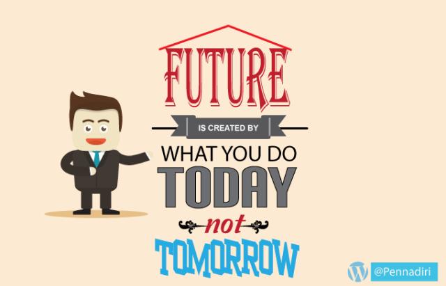 30 hari menulis di bulan april - Hari ke-29 - Tema Impian Masa depan