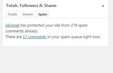 Blog terkena serangan spammer