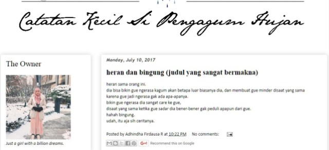 Grafatar author Dinda Firdausa