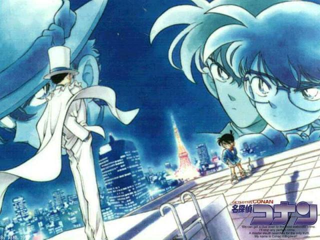 Rivalitas Kaito Kid Dan Conan Edogawa
