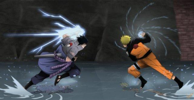 Rivalitas Uzumaki Naruto vs Sasuke Uchiha