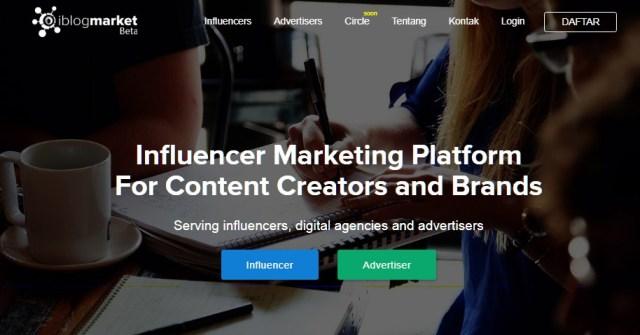 Website penyedia influencer