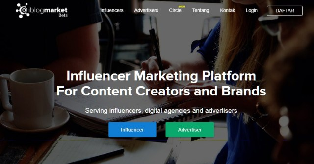 Website penyedia influencer