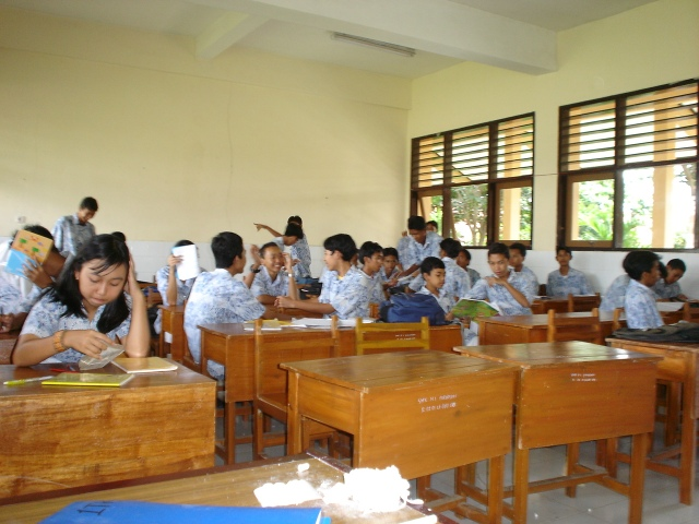 Kelas TKJ angkatan 2004-2007 SMK N 1 Purwoosari Pasuruan
