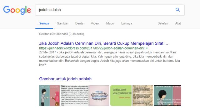 Blog Tentang Jodoh